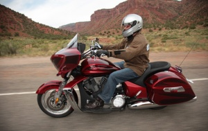 2011 Victory Cross Country Red