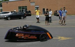 Oneida High School Electric Car