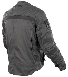 CALL TO ARMS TXT JACKET GREY