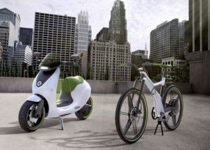Smart Electric Scooter and Bike